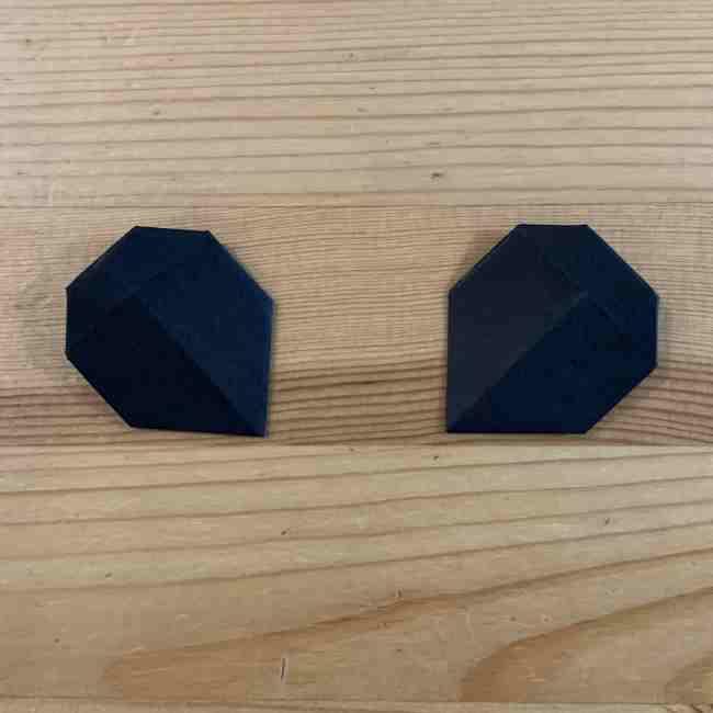 折り紙 ディズニーのミッキー&ミニーの折り方・作り方 (6)