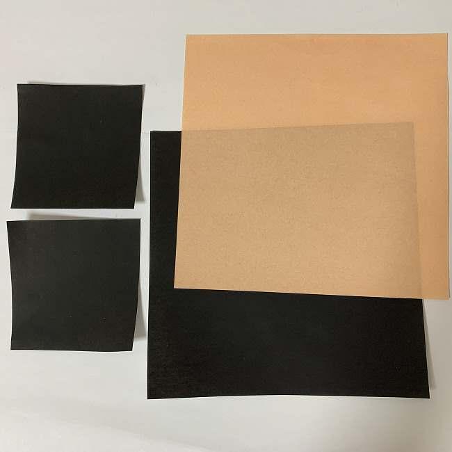 ツムツムの折り紙 ミッキー&ミニー*用意するもの